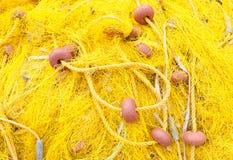 Fondo de las redes de pesca fotografía de archivo