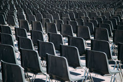 Fondo de las sillas Fotografía de archivo libre de regalías