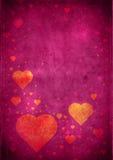 Fondo de las tarjetas del día de San Valentín stock de ilustración
