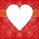 Fondo de las tarjetas del día de San Valentín Imagenes de archivo
