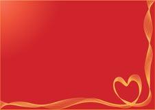 Fondo de las tarjetas del día de San Valentín libre illustration