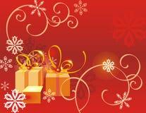 Fondo de las vacaciones de invierno foto de archivo libre de regalías