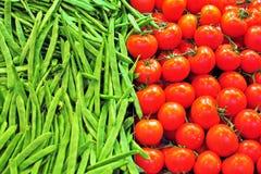 Fondo de las verduras Fotografía de archivo libre de regalías