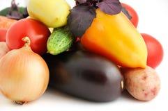 Fondo de las verduras frescas fotos de archivo