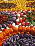 Fondo de las verduras frescas foto de archivo libre de regalías