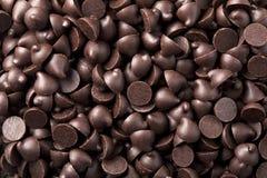 Fondo de las virutas de chocolate Fotos de archivo
