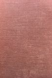 Fondo de lino de color rojo oscuro detallado de la textura de Grunge Foto de archivo libre de regalías