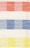Fondo de lino de la tela Fotos de archivo libres de regalías