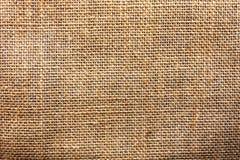 Fondo de lino natural de la textura del Grunge Viejo cierre de la lona del rustik Foto de archivo