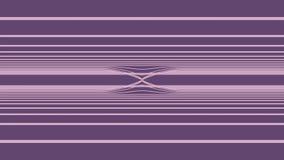 Fondo de Loopable con el extracto agradable, líneas coloridas futuristas Lazo ondulado abstracto colorido de las rayas VJ de las  stock de ilustración
