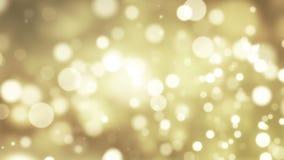 Fondo de Loopable del oro del Año Nuevo almacen de metraje de vídeo