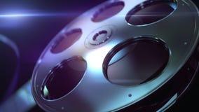 Fondo de Loopable del rollo de película stock de ilustración