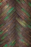Fondo de los aros del metal para los barriles de madera Fotografía de archivo