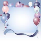 Fondo de los balones de aire stock de ilustración