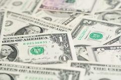 Fondo de los billetes de banco del dólar. Imagen de archivo libre de regalías