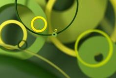 Fondo de los círculos concéntricos Fotografía de archivo