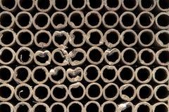 Fondo de los círculos de papel de los fuegos artificiales de los tubos fotos de archivo