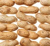 Fondo de los cacahuetes Fotografía de archivo