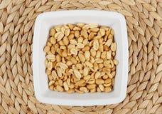 Fondo de los cacahuetes Imagen de archivo