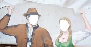 Fondo de los campesinos foto de archivo