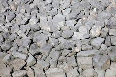 Fondo de los cantos rodados de la roca Foto de archivo libre de regalías