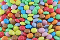 Fondo de los caramelos Imagen de archivo libre de regalías