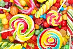 Fondo de los caramelos Fotografía de archivo