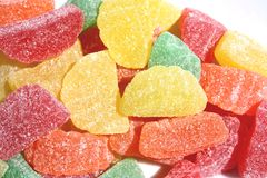 Fondo de los caramelos de la jalea Fotos de archivo libres de regalías