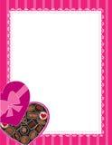 Fondo de los chocolates ilustración del vector