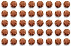 Fondo de los chocolates Imagen de archivo libre de regalías