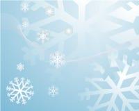 Fondo de los copos de nieve Imagenes de archivo
