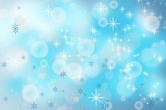 Fondo de los copos de nieve de la Navidad Fotografía de archivo libre de regalías