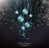 Fondo de los copos de nieve de la Navidad libre illustration
