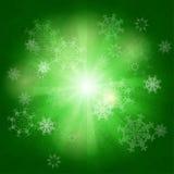 Fondo de los copos de nieve del vector Imagen de archivo libre de regalías