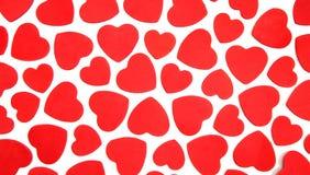 Fondo de los corazones Imagen de archivo libre de regalías