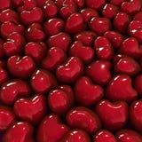 Fondo de los corazones. Foto de archivo