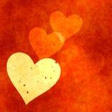 Fondo de los corazones Imagenes de archivo