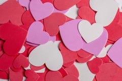 Fondo de los corazones Imágenes de archivo libres de regalías