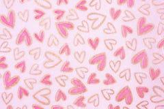 Fondo de los corazones de las tarjetas del día de San Valentín libre illustration