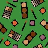 Fondo de los cosméticos Ejemplo plano Foto de archivo libre de regalías