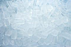 Fondo de los cubos de hielo Imagen de archivo libre de regalías