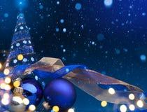 Fondo de los días de fiesta de la Navidad Imagen de archivo libre de regalías