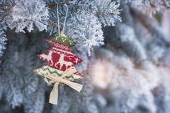 Fondo de los días de fiesta de la Navidad del vintage y del Año Nuevo Foto de archivo