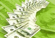Fondo de los dólares de los americanos Imagen de archivo
