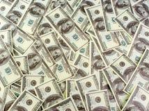 Fondo de los dólares de los billetes de banco Imagen de archivo