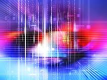 Fondo de los datos de Digitaces ilustración del vector