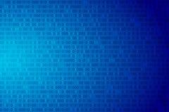 Fondo de los datos del código binario ilustración del vector