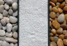 Fondo de los elementos de la roca Fotografía de archivo