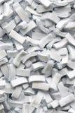 Fondo de los fragmentos de papel Fotografía de archivo libre de regalías