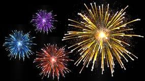 Fondo de los fuegos artificiales Imagen de archivo libre de regalías
